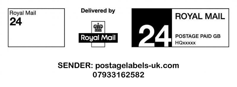 Royal mail Ppi Labels RM24